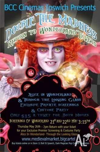 Alice in Wonderland V.I.P. Screenings & Costume Party