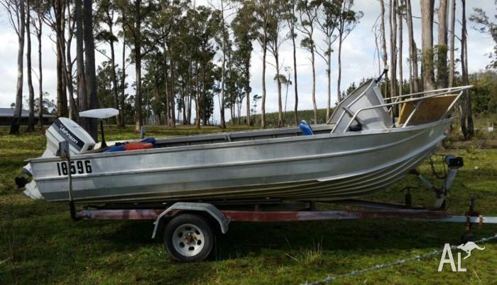 alloy boat