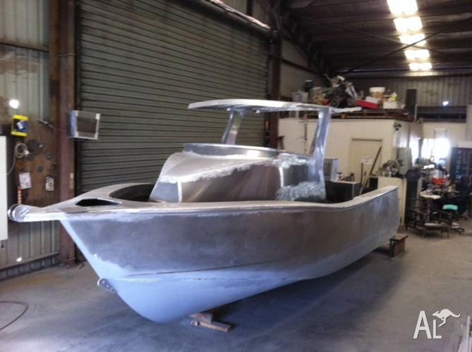 Alloy Boat Hardtop Walkaround 6 4m Loa For Sale In