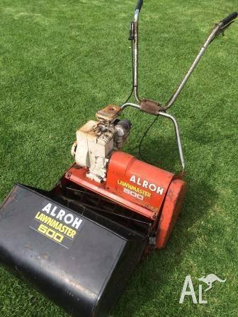 ALROH Reel lawn mower 50cm Lawnmaster 500 Good working