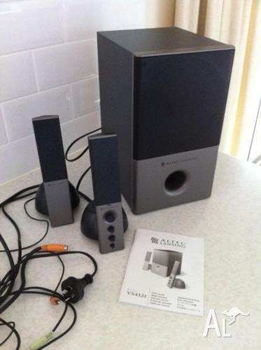 Altec Lansing 3 piece powered audio system for your
