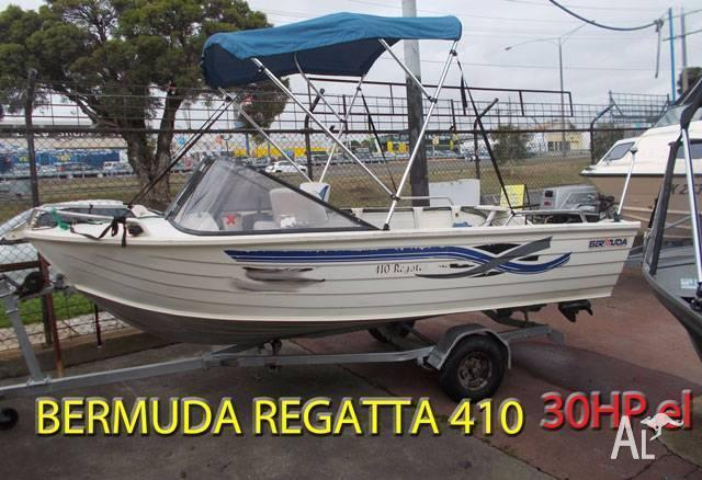 ALUMINIUM BERMUDA REGATTA PRICE REDUCED