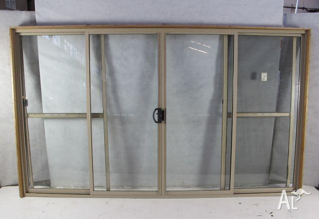 Aluminium External Double Sliding Door Set