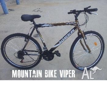 Amazing Mountain Bike 26Inch Gold Black Sporty Look