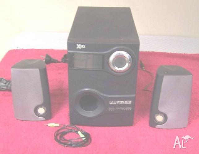 Amplified Multimedia Speaker System