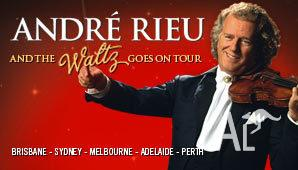 ANDRE RIEU MELBOURNE BELOW COST 2 TICKETS 19th October