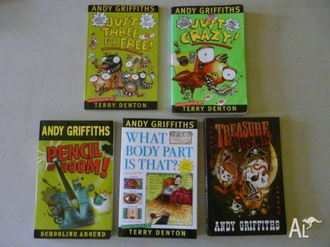 Andy Griffiths (total of 5 books)