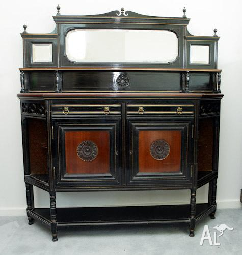 Antique Aesthetic Movement Sideboard/Dresser, C1880