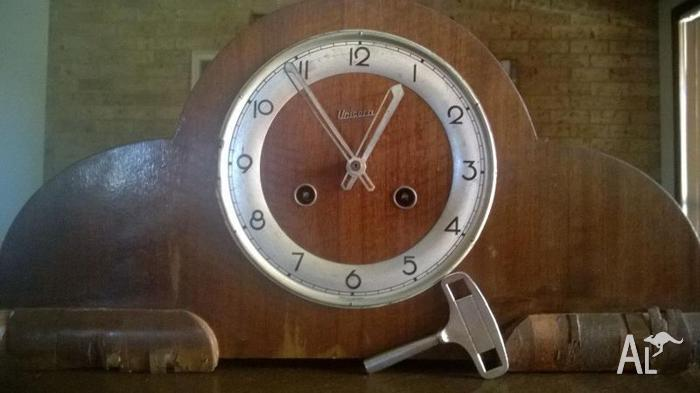 Antique Clock FHS Unicorn (made in Germany) 1940's