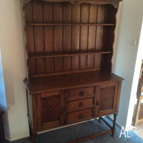 Antique Oak Welsh Dresser