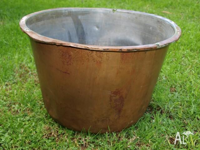 Antique / Vintage Copper Laundry Tub Boiler for Sale in ARCADIA, New ...