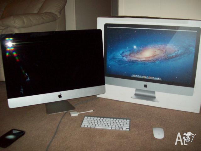 apple imac 27 desktop mc813ll a for sale in hoppers crossing victoria classified. Black Bedroom Furniture Sets. Home Design Ideas