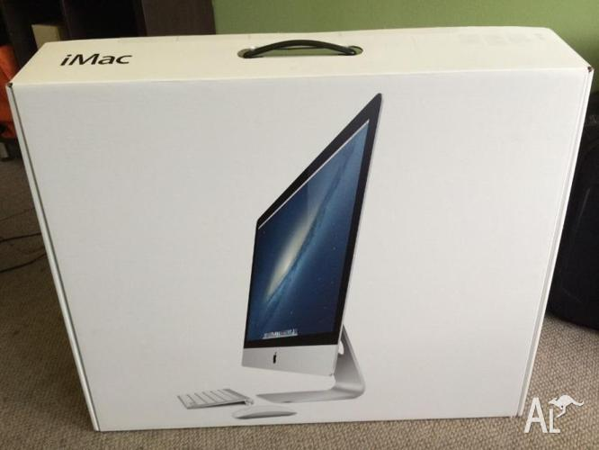 Apple iMac 27 inch late 2012 3.4 GHz 3TB HD 24GB RAM