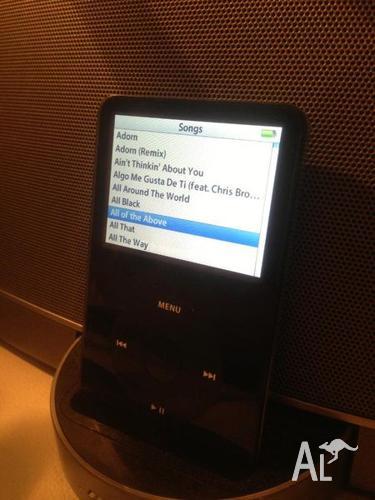 Apple iPod Classic 30gb 5th Generation (Black)