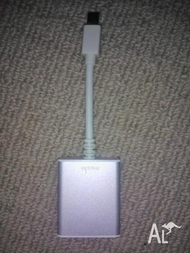 Apple Moshi Usb Converter For Laptop  With Free 1 5m