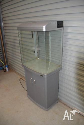 AquaOne 620T Aquarium on cupboard – suit reptiles or