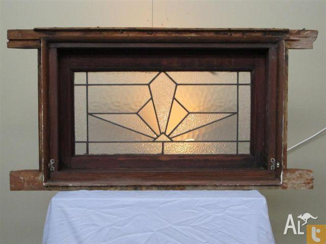 Art Deco Highlight Leadlight Windows