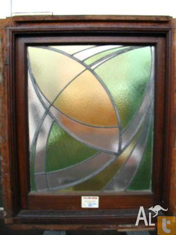 Art Deco Leadlight Highlight Windows