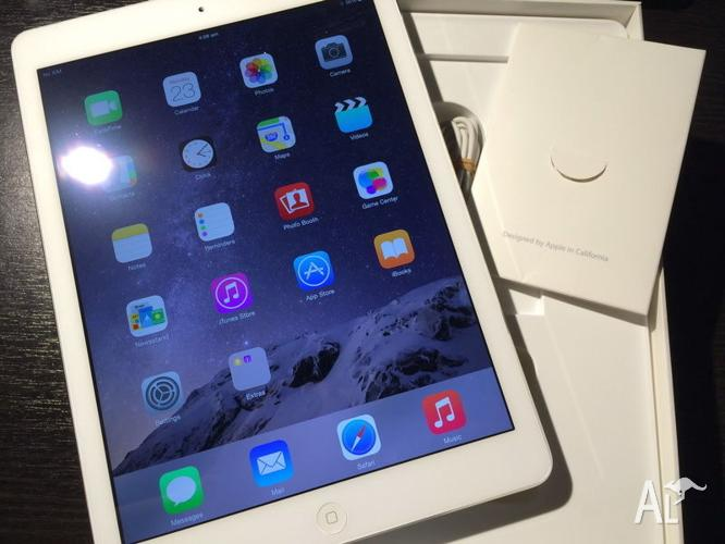AS NEW / 2MTH OLD! Apple iPad air 32GB WIFI+4G WHITE