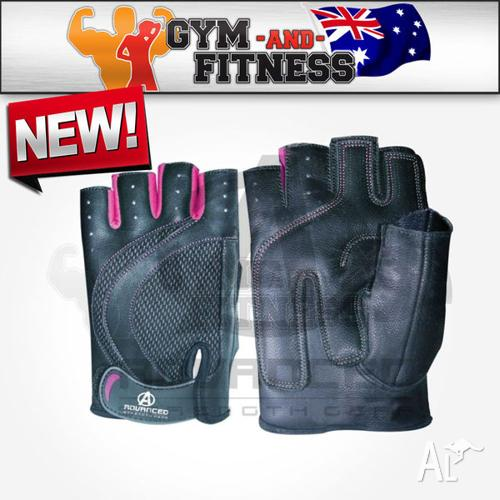 ASG Womens Leather Weight Training Gloves - Small