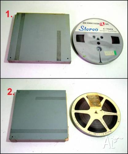 Assorted 7 1/2 IPS Speed Reel to Reel Tapes