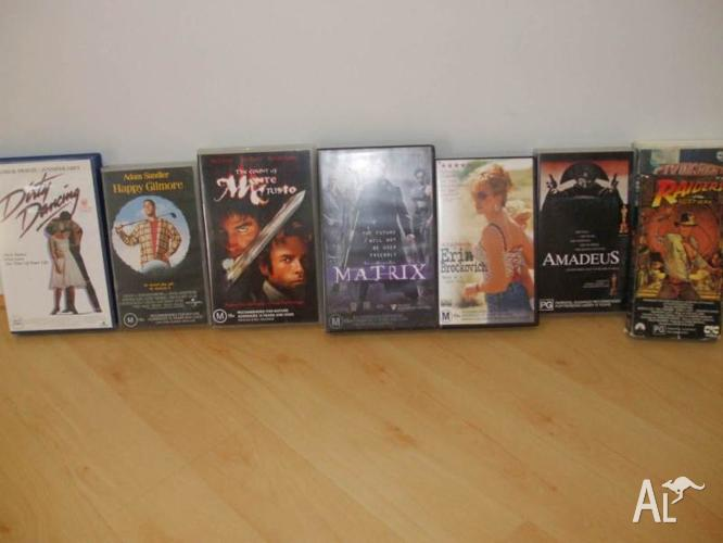 ASSORTED MOVIES VHS