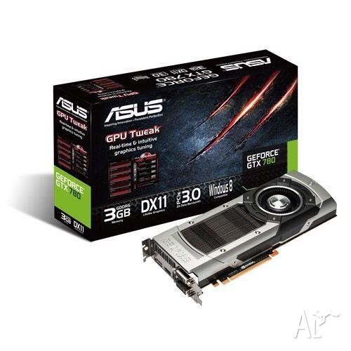 ASUS GeForce® GTX 780 boxed with access. PRICED FOR