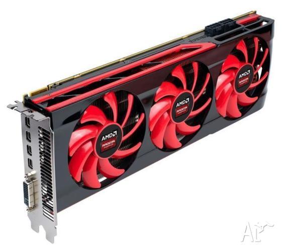 ATI AMD Radeon GIGABYTE 7990 Dual GPU 6GB Ram