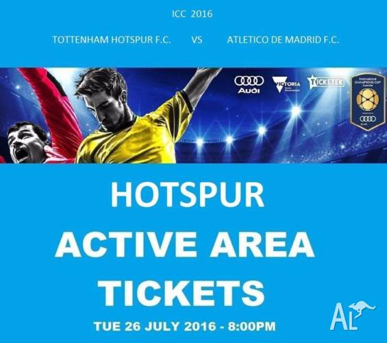 ATLETICO MADRID v TOTTENHAM HOTSPUR * SPURS ACTIVE AREA