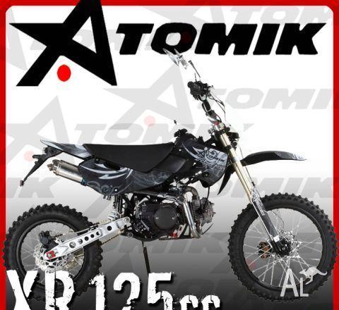 ATOMIK REIGNXR 125CC 125M  2010