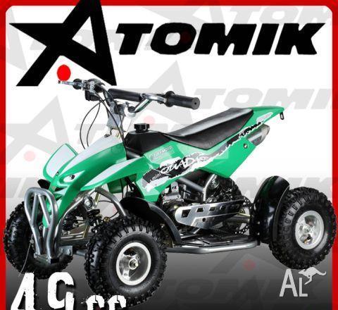 ATV ATOMIK MINI QUAD I 49cc  2011
