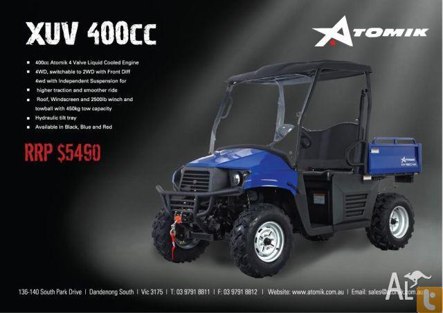 ATV UTV ATOMIK XUV 400cc  2011