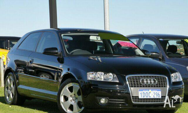 audi a3 2 0 fsi ambition 8p 2007 for sale in wangara. Black Bedroom Furniture Sets. Home Design Ideas