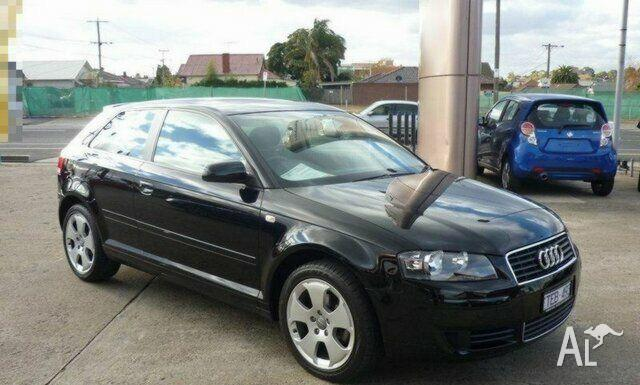 audi a3 2 0 fsi attraction 8p 2004 for sale in footscray. Black Bedroom Furniture Sets. Home Design Ideas