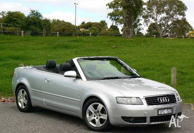 audi a4 cabriolet b6 2003 for sale in balwyn victoria classified. Black Bedroom Furniture Sets. Home Design Ideas