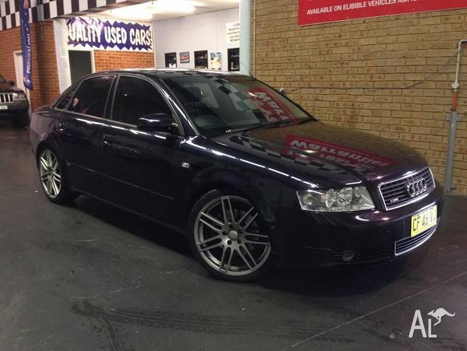 Audi A4 S-Line 1.8T, Immaculate Throughout, Long Rego