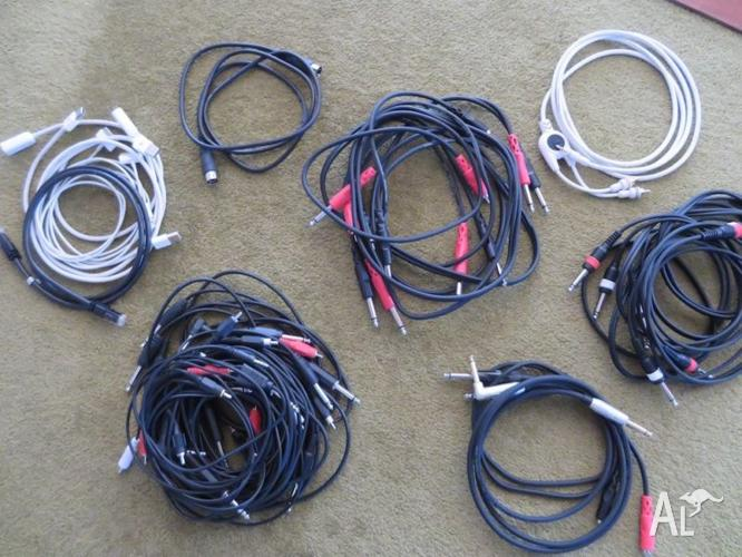 Audio Leads, Jack and RCA
