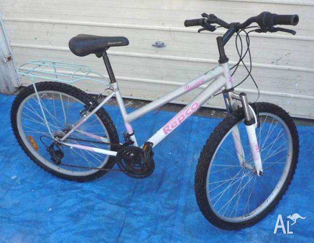 Aurora Ladies Bicycle with Luggage Rack
