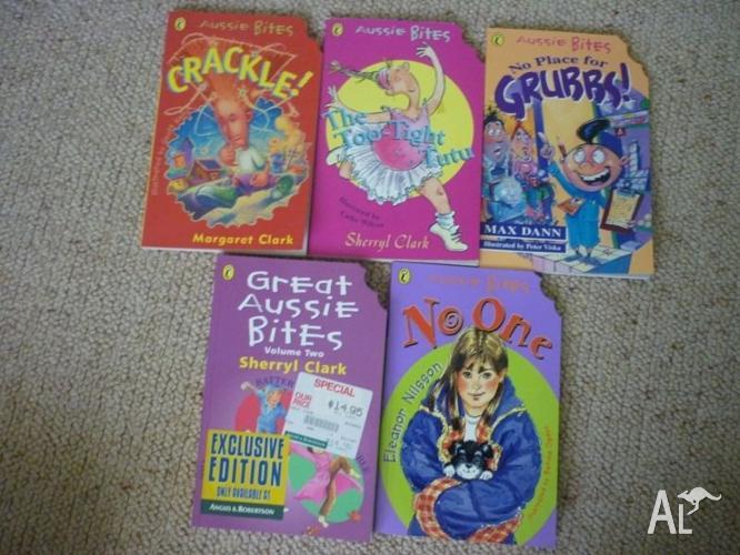 Aussie Bites Children's Books x 5
