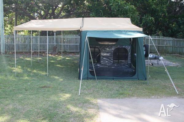 Austrack Campers Blue 9' Off Road Tent $2,160
