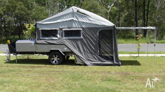 Excellent  XTREME 5 Forward Folding Hard Floor Off Road Camper Trailer For Sale