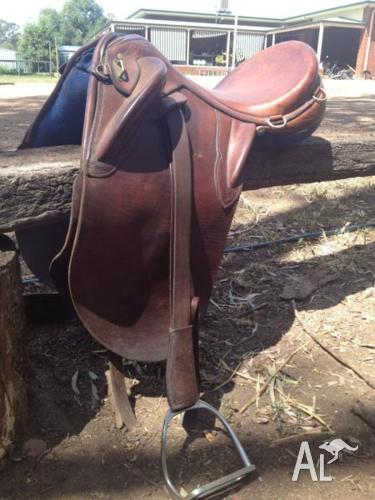 Australia made G. Davidson & Son Sydney stock saddle