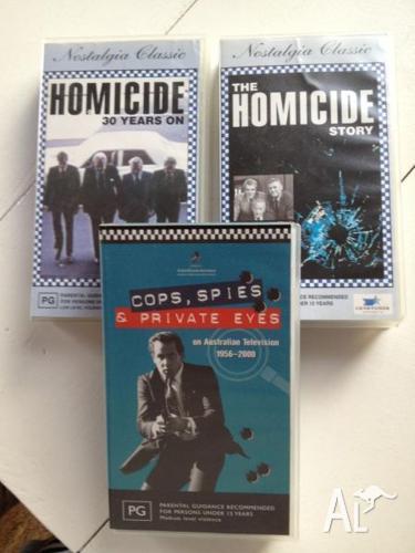Australian Crime Set of 3 Videos