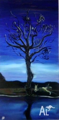 Australian Oil Painting