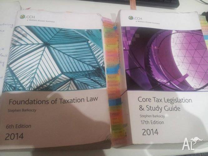Australian Tax Law Text Book and Legislation