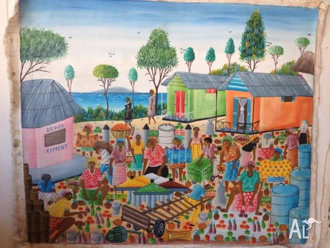 Authentic Painting from Haiti