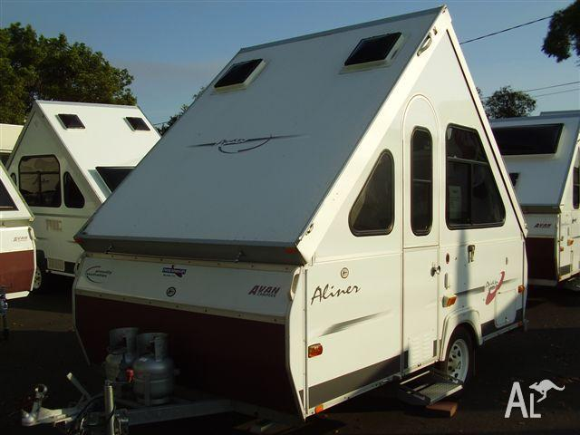 Original 14ft Camper Trailer  Excellent Condition For Sale In ARARAT Victoria