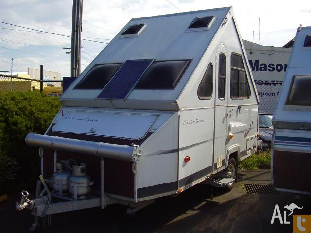 Creative CAMPER TRAILER CARAVAN ONE OWNER For Sale In ALLANSFORD Victoria