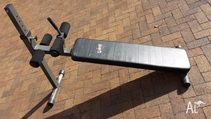 Avanti adjustable weight (sit up) gym bench