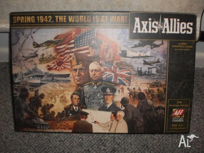 Axis and Allies: Spring 1942 Board Game for Sale in LUTWYCHE